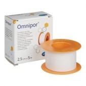 Omnipor, Омнипор пластырь 5м*2,5см, нетканевой материал, белый
