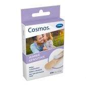 Пластырь Cosmos-sensitive, Космос Сенситив, гипоаллергенный, диаметр 22мм (20шт/уп)
