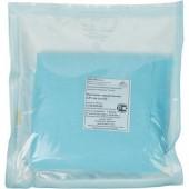 Простыня одноразовая стерильная 200*140 плотность 18 г/кв.м, голубая